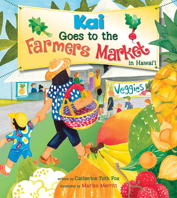 Kai Goes to the Farmer's Market in Hawai'i