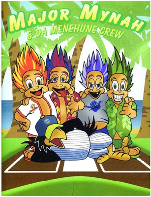 Major Mynah and Da Menehune Crew Coloring Book