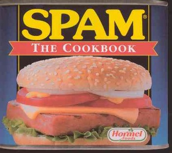 SPAM The Cookbook Recipes from Main Street