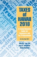 Taxes of Hawaii 2018