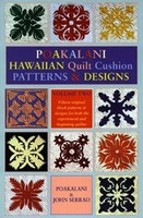 Arts & Crafts Poakalani Hawaiian Quilt Cushion Patterns and Design V.2