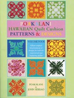 Arts & Crafts Poakalani Hawaiian Quilt (VOLUME 4)