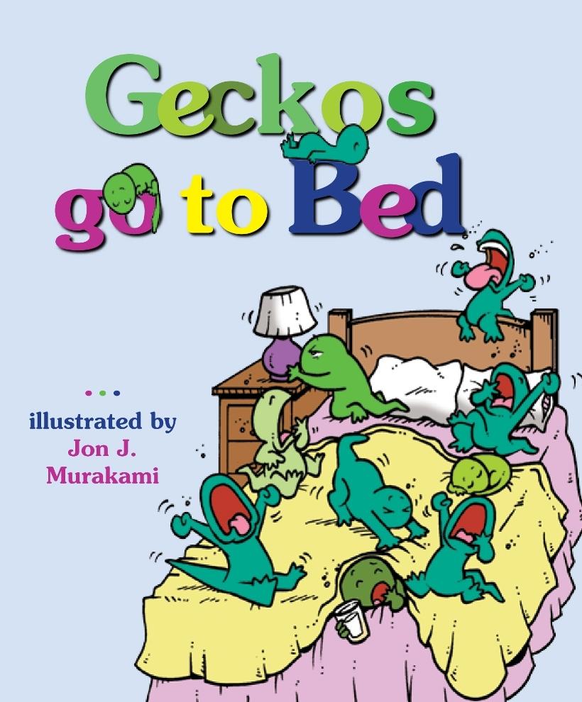 geckos go to bed. Black Bedroom Furniture Sets. Home Design Ideas