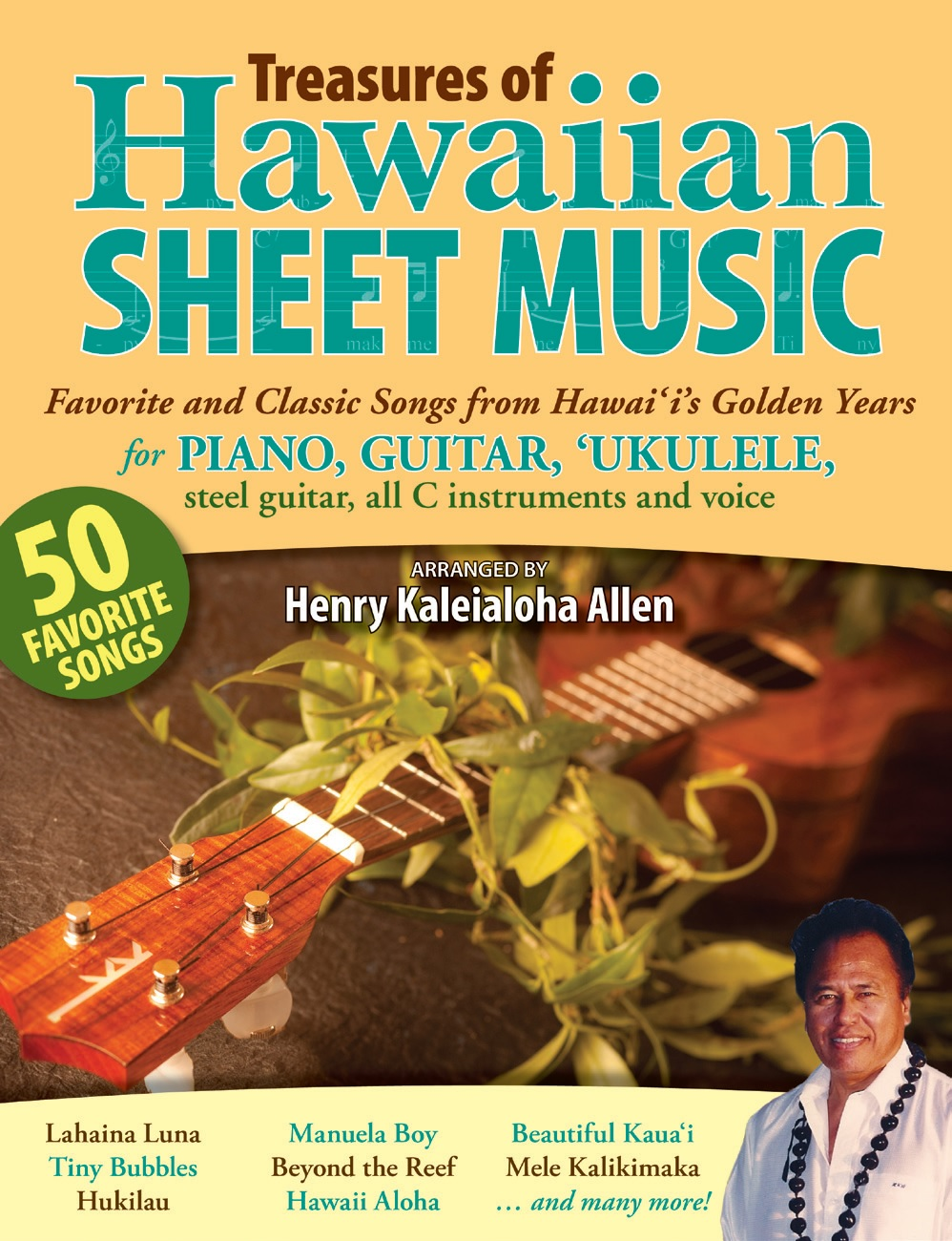 Treasures Of Hawaiian Sheet Music Favorite And Classic Songs From