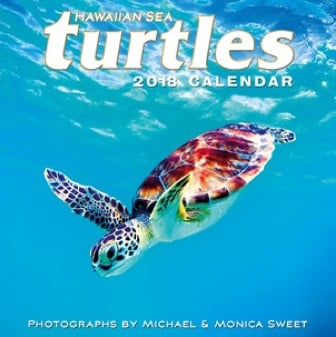 2018 Deluxe Calendar - Hawaiian Sea Turtles