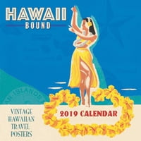 "Hawaii Bound - Deluxe 11"" x 11"" Wall Calendars"