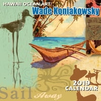 "Hawaiian Ocean Art - Deluxe 11"" x 11"" Wall Calendars"