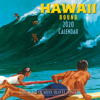 "Calendars Hawaii Bound - 11""x11"" Wall Calendar"