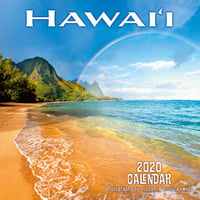 "Hawaii Landscapes - 11""x11"" Wall Calendar"