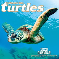 "Hawaiian Sea Turtles - 11""x11"" Wall Calendar"